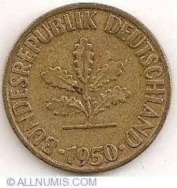 Image #2 of 10 Pfennig 1950 D