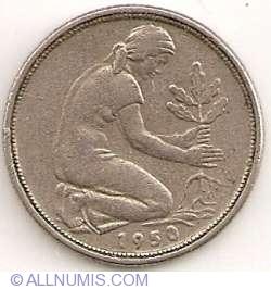50 Pfennig 1950 F