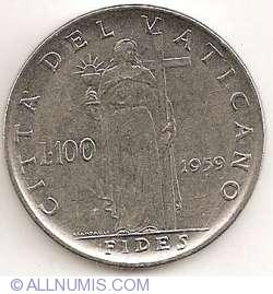 Image #1 of 100 Lire 1959