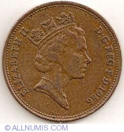Image #2 of 2 Pence 1986