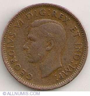 1 Cent 1942, George VI (1937-1952) - Canada - Coin - 5907
