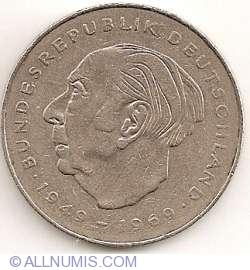 Image #2 of 2 Mark 1977 J - Theodor Heuss