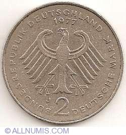 Image #1 of 2 Mark 1977 J - Theodor Heuss