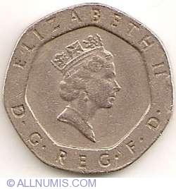 20 Pence 1985