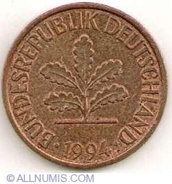 Image #2 of 2 Pfennig 1994 D