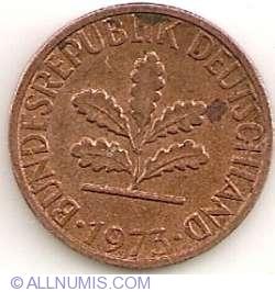 Image #2 of 1 Pfennig 1973 J