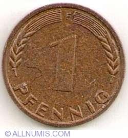 Image #1 of 1 Pfennig 1972 F