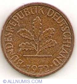 Image #2 of 1 Pfennig 1972 F