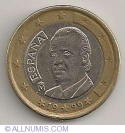 Image #2 of 1 Euro 1999