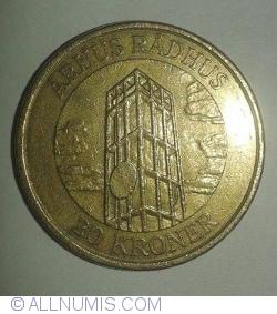 Imaginea #1 a 20 Kroner 2002 - Arhus Radhus