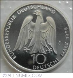 10 Mărci 1999 D - J.W. von Goethe