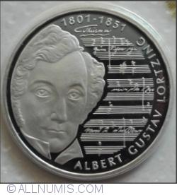 10 Mărci 2001 G - Albert Gustav Lortzing