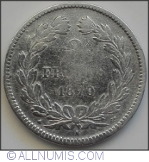 Image #1 of 2 Francs 1870 A