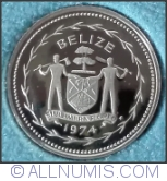 Image #2 of 5 Cents 1974