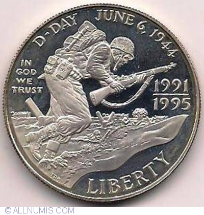 1993 US Mint WWII 50th Anniversary Commemorative Half Dollar UNC