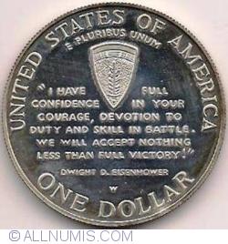 1 Dollar 1993 W - 50th Anniversary of World War II