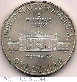 Image #1 of 1 Dollar 1993 D - James Madison - Bill of Rights