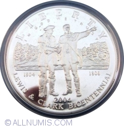 Image #1 of 1 Dollar 2004 P -200th anniversary of the Lewis & Clark expedition.