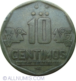 Image #1 of 10 Centimos 1992