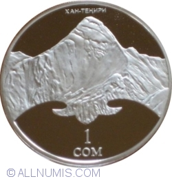 Image #1 of 1 Som 2011 - 20th Anniversary of Independence - Khan Tengri Peak