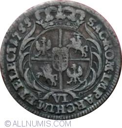 Image #1 of 6 Groszy 1755