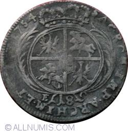 Imaginea #1 a 18 Groszy 1754