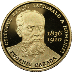 Image #2 of 100 Lei 2010 - Eugeniu Carada - the founder of the National Bank of Romania