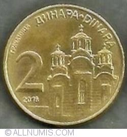 1  2  5  Dinara issue 2018 YUGOSLAVIA SERBIA UNC