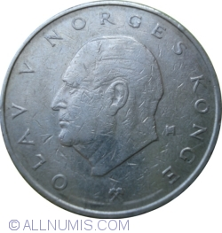 Image #2 of 5 Kroner 1975