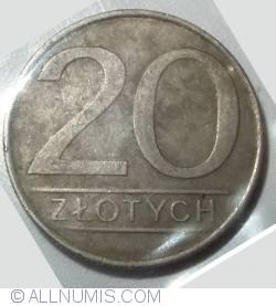 20 Zlotych 1984