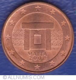 Imaginea #2 a 1 Euro Cent 2008