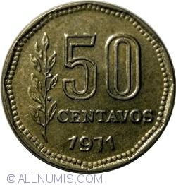 Image #1 of 50 Centavos 1971