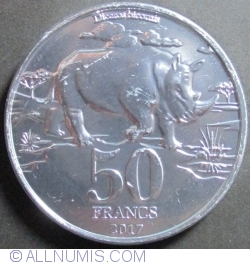 Image #1 of 50 Francs 2017