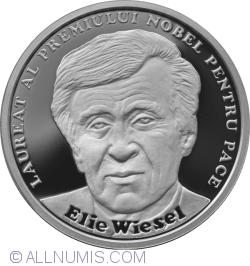 Image #2 of 10 Lei 2017 - Romanian-born Nobel Prize laureates – Elie Wiesel