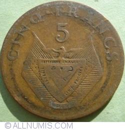 Image #1 of 5 Francs 1974