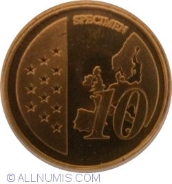 Image #1 of 10 Euro Cent (Fantasy)