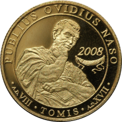 Image #2 of 100 Lei 2008 - Publius Ovidius Naso - 2,000 years from his being sent into exile in Tomis