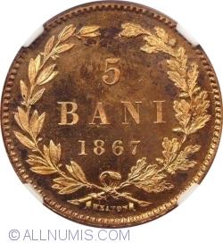 Imaginea #1 a 5 Bani 1867 Heaton