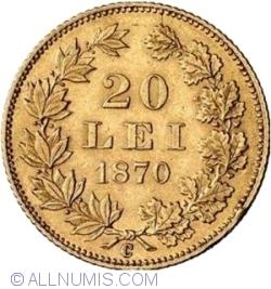 Imaginea #1 a 20 Lei 1870