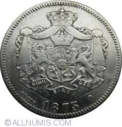 Imaginea #2 a 1 Leu 1873 - L intrerupt