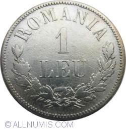 Imaginea #1 a 1 Leu 1873 - L intrerupt