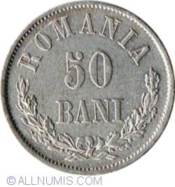 Imaginea #1 a 50 Bani 1873