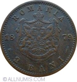 Imaginea #1 a 2 Bani 1879 - 20 mm diametru
