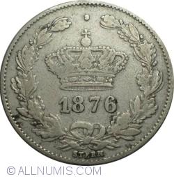 Imaginea #2 a 50 Bani 1876