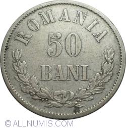 Imaginea #1 a 50 Bani 1876