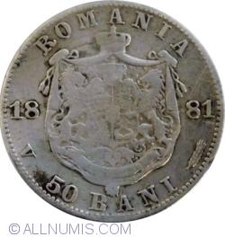 Imaginea #1 a 50 Bani 1881