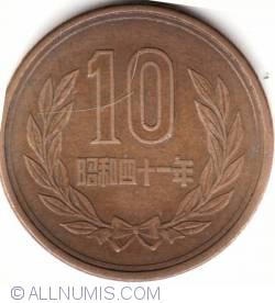 Image #1 of 10 Yen 1966 (41) - 十円 (四十一 )