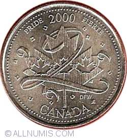 Image #2 of 25 Cents 2000 - Pride