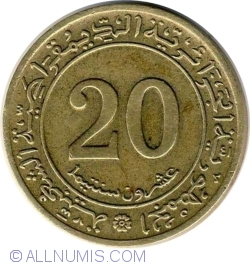 20 Centimes 1972