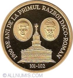 Image #2 of 1000 Lei 2001 - 1900 years since the first Dacian-Roman war